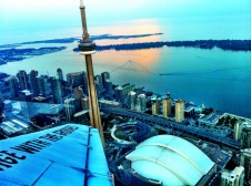 Circling the CN Tower