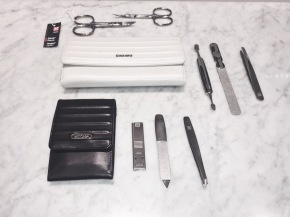 Women's and Men's Manicure Sets.